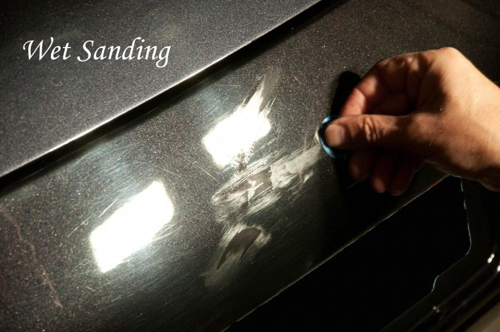 21wet sanding