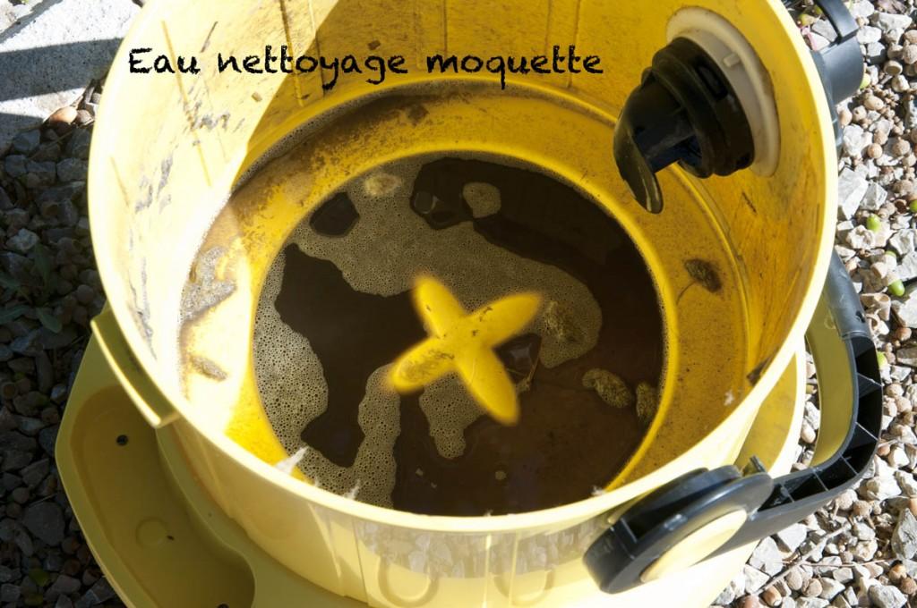 23 eau nettoyage moquette