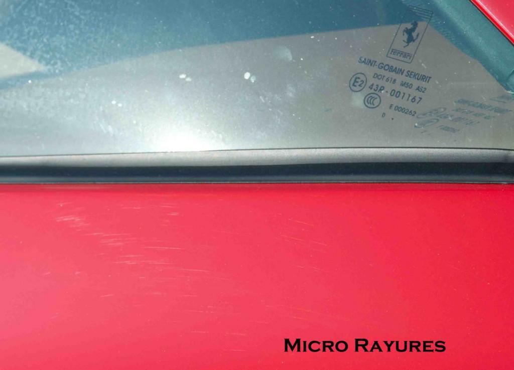 6 Micro rayures