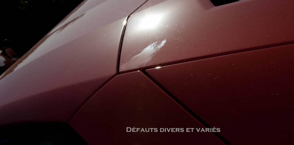 Defauts divers et varies