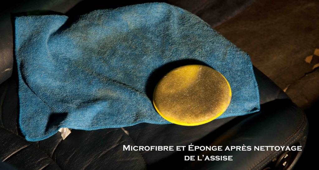 Microfibre apres nett cuir