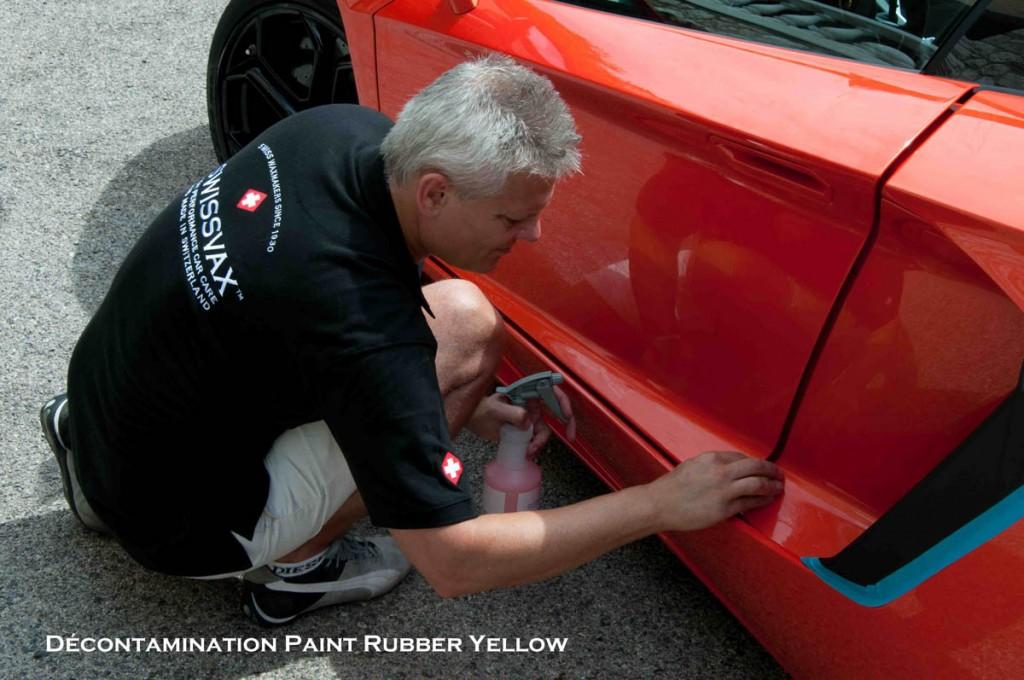 Paint rubber