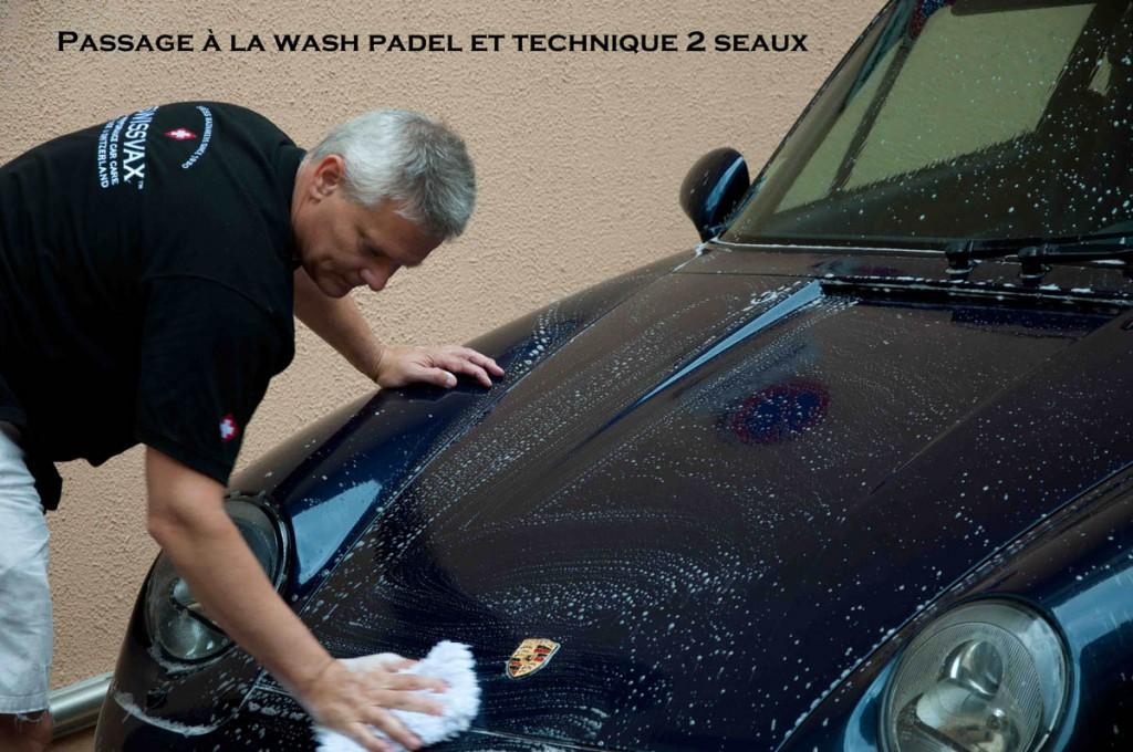 Wash padel