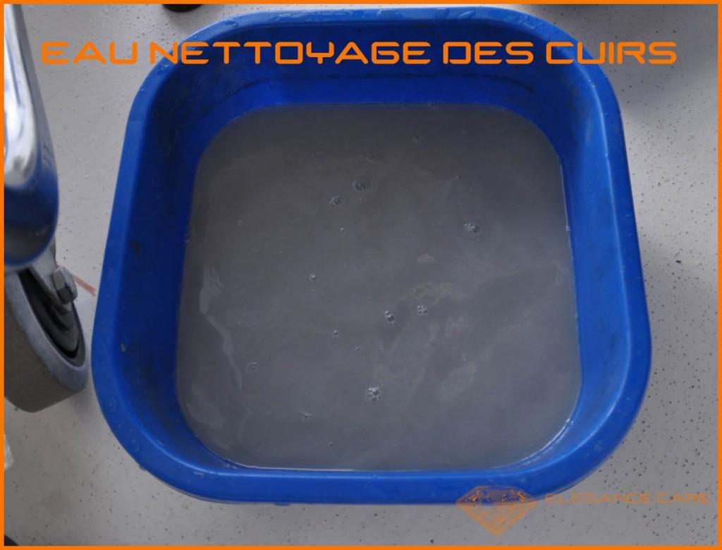 7 eau nettoyage cuir