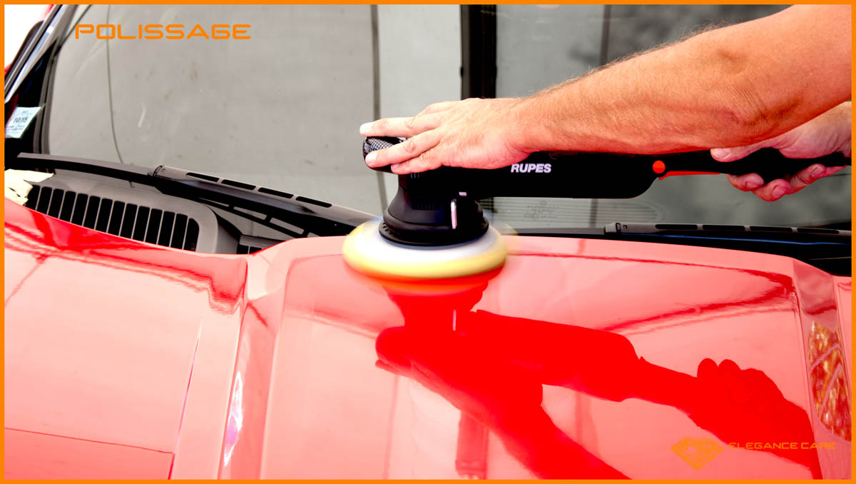 Detailing traitement dodge viper c ramique 9h l gance care for Polissage et lustrage voiture