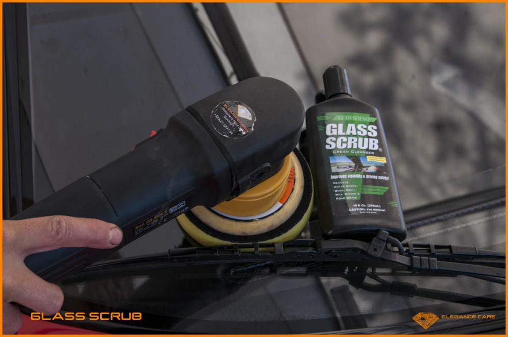 15 glass scrub