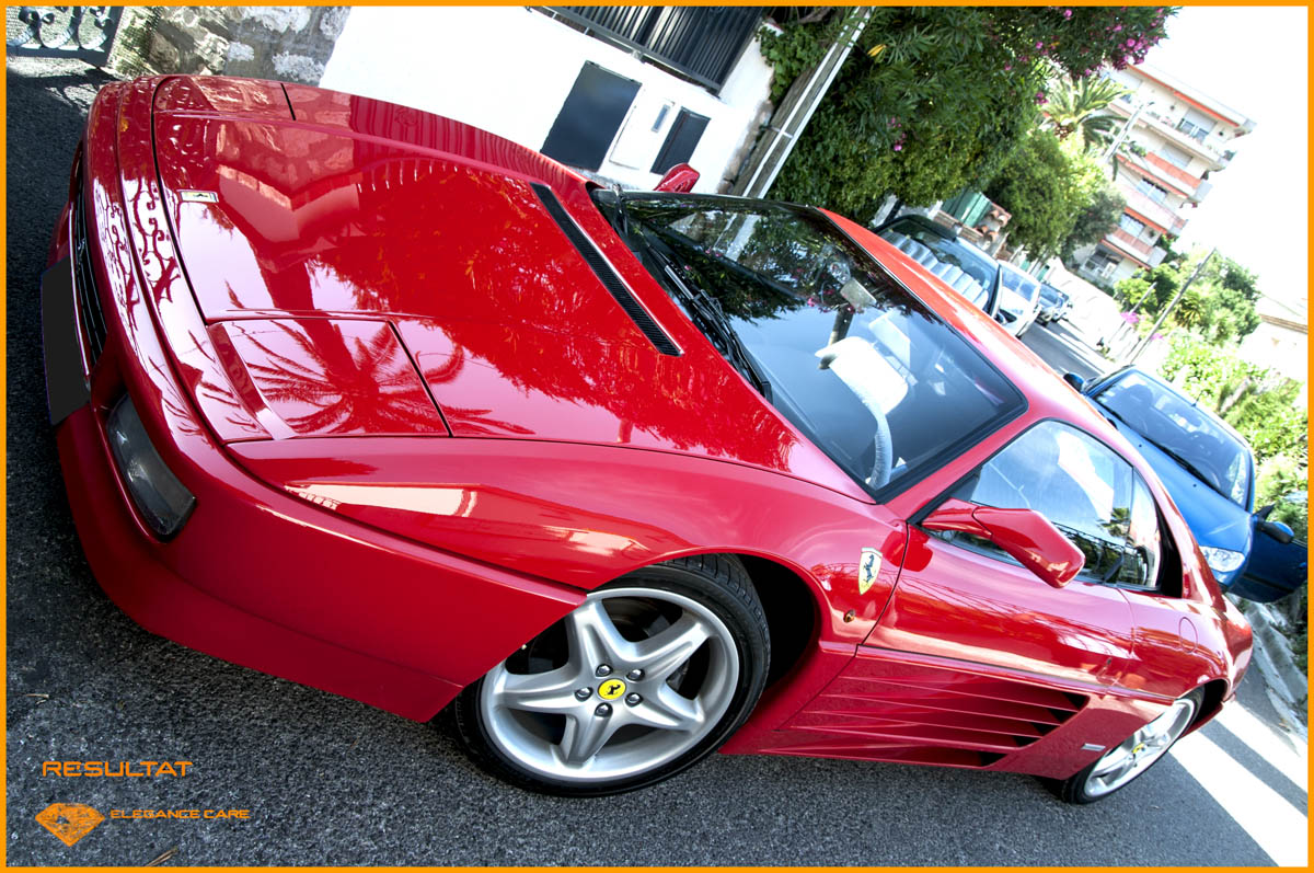 detailing ferrari 348 tb traitement c ramique 9h l gance care. Black Bedroom Furniture Sets. Home Design Ideas