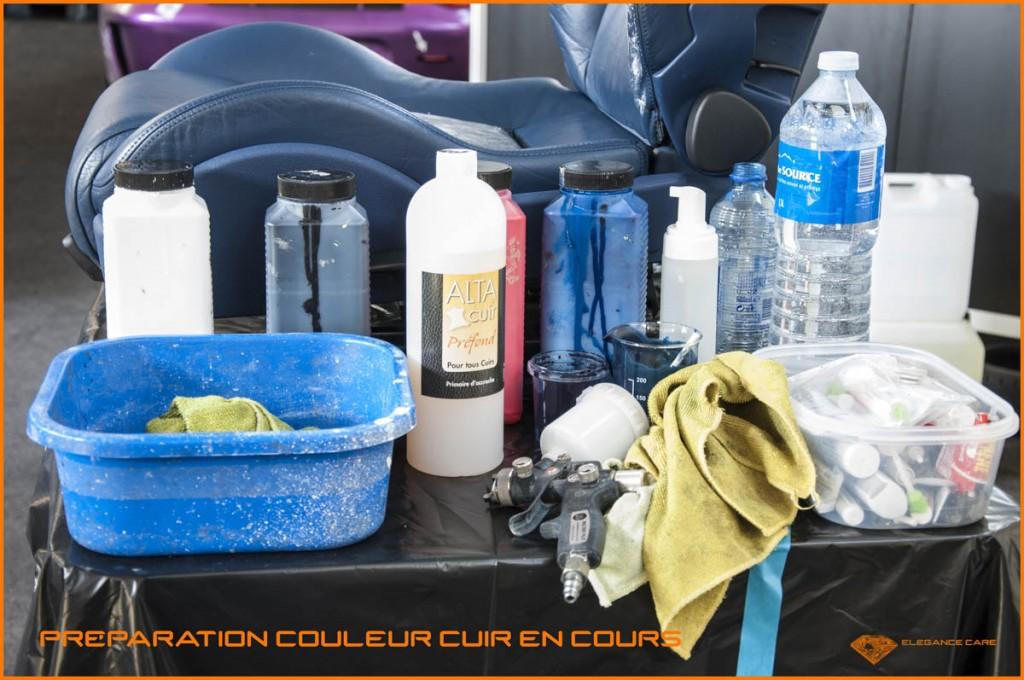 34 préparation couleur cuir